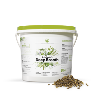 Dr. Schaette's Deep Breath, 3,5 kg pellets hink