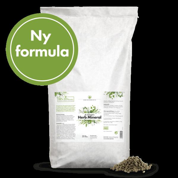 Dr. Schaette's Herb_Mineral, 20 kg pellets säck